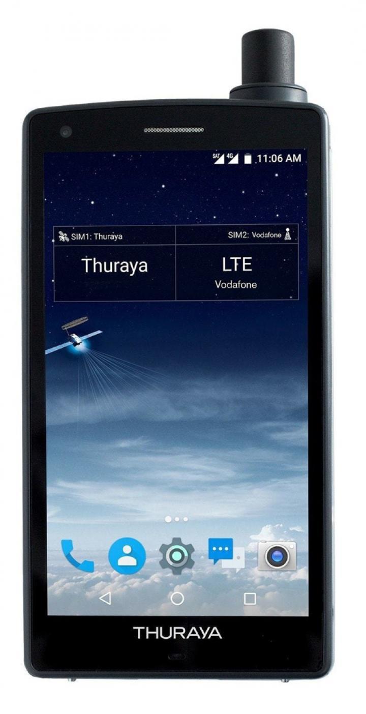 Стала известна дата выхода первого в мире спутникового Android-смартфона (фото)