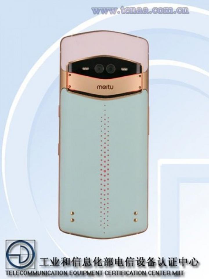 Показали первый смартфон с тройной селфи-камерой (фото)