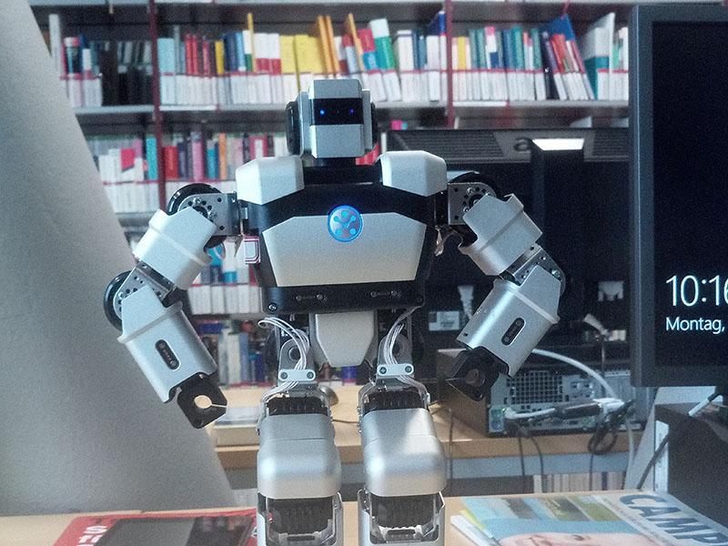 В австрийском университете тестируют «робота-библиотекаря»