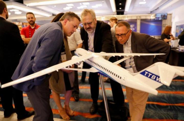 Boeing показал концепт самолета с ультратонким крылом (фото)