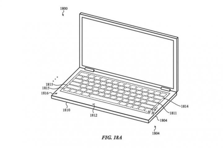 Клавиатуру MacBook могут заменить на стеклянную