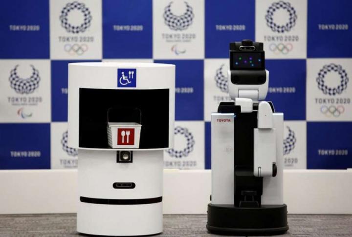 Олимпийские игры в Токио будут обслуживать роботы