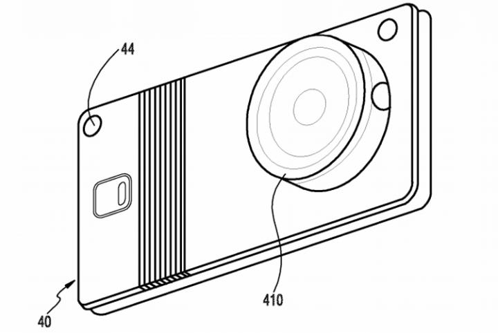 В Samsung придумали гибкий смартфон со съёмной камерой