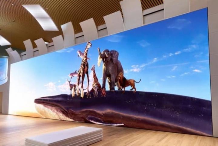 Sony представила огромный дисплей Micro LED с поддержкой разрешения 16К (фото)