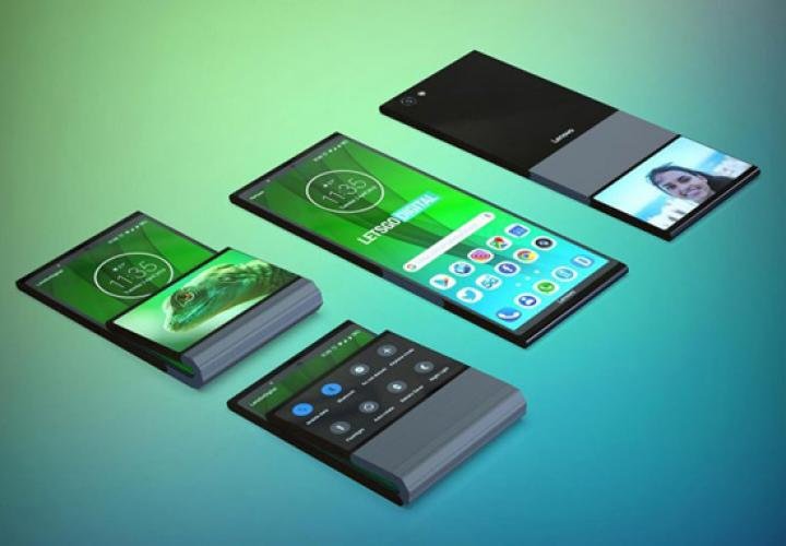 Lenovo проектирует гибкий смартфон с двумя дисплеями (фото)