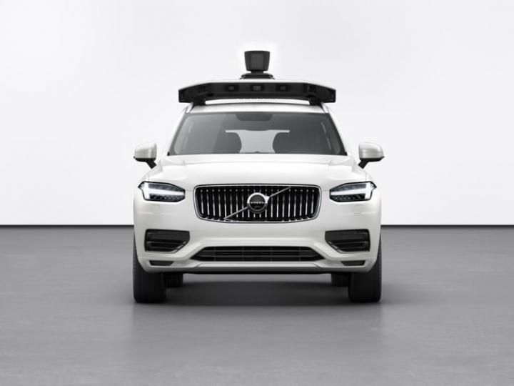 Uber анонсировала самоуправляемый автомобиль нового поколения (фото)