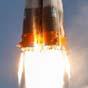 Запуск военного спутника завершился крушением (видео)