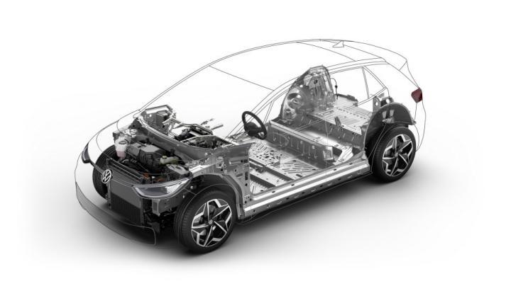 Серийный электромобиль Volkswagen ID.3 представили официально (фото, видео)