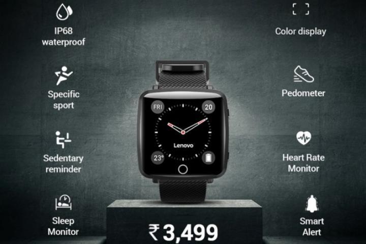 Китайская компания Lenovo представила новые смарт-часы (фото)
