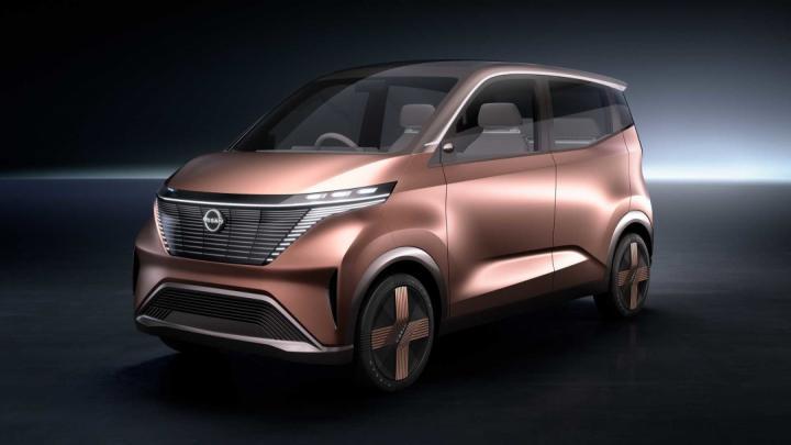 Nissan показал футуристический автомобиль для мегаполисов (фото)