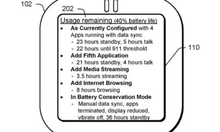Microsoft патентует новый счетчик уровня заряда батареи (фото)