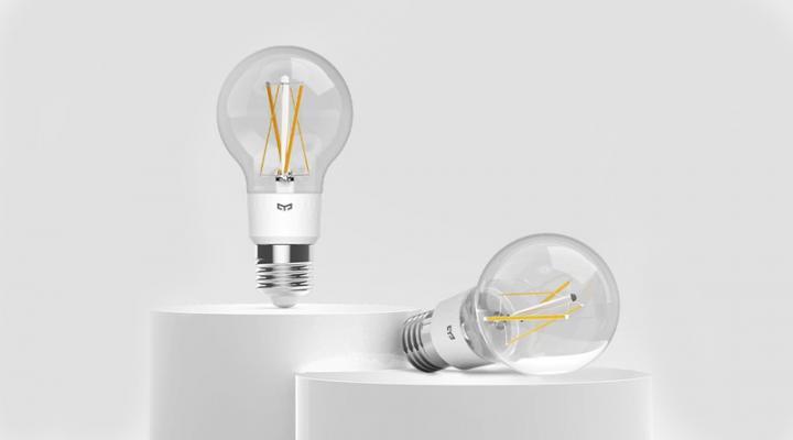 Xiaomi представила светодиодную лампу Yeelight Smart LED Bulb (фото)