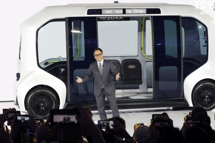 Toyota официально представила беспилотник для Олимпиады-2020 (фото)