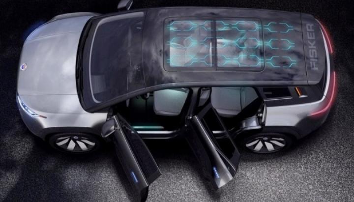 Автопроизводитель Fisker показал свой первый электрокар (фото)