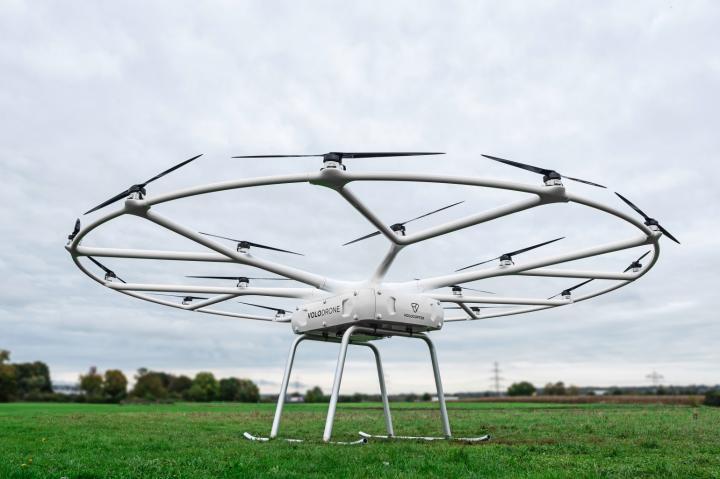 Volocopter представила грузовой дрон VoloDrone (фото, видео)