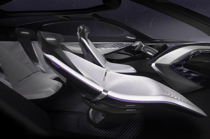 Kia показала концепт электрокара с космическим дизайном