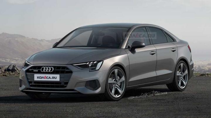 Таким может быть новый седан Audi A3