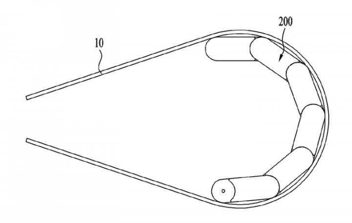 LG раздумывает над «умным» браслетом с гибким дисплеем