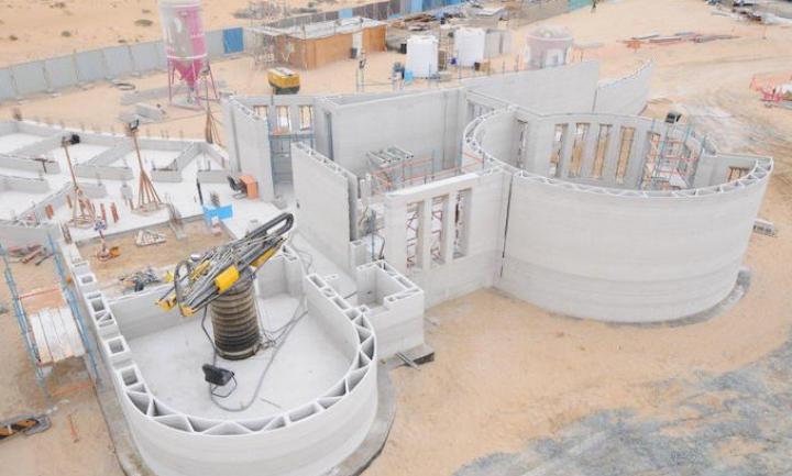 В Дубае возвели самый большой в мире дом, напечатанный на 3D-принтере (фото)
