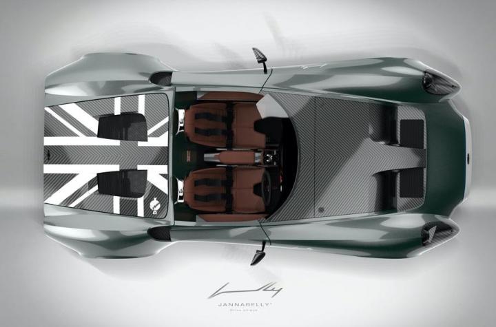 С нуля до 100 километров за несколько секунд: в Дубае презентовали новый спорткар (фото)