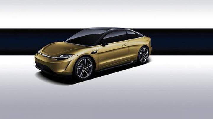 Sony представила концепт электромобиля Vision-S (фото)