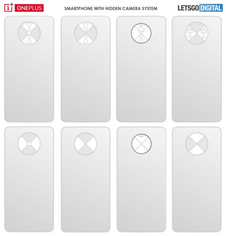OnePlus проектирует смартфоны с необычной системой камер (фото)
