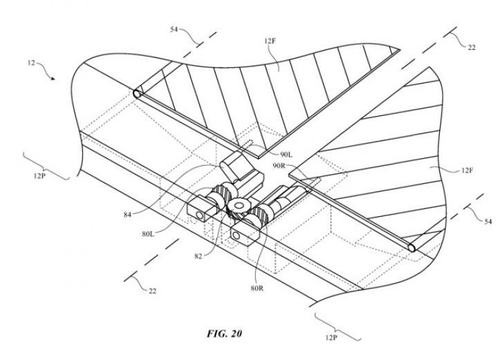 Apple запатентовала уникальный гибкий экран (фото)