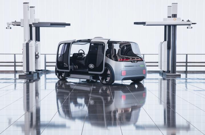 Jaguar Land Rover построил беспилотный шаттл (фото)