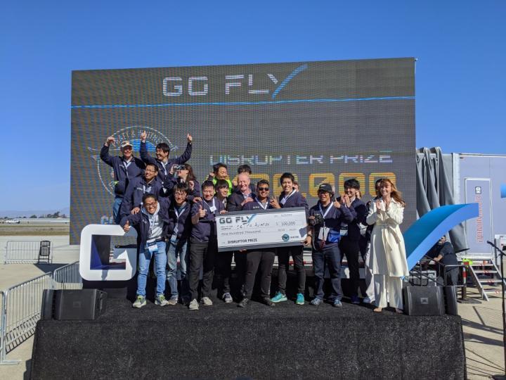 Японская команда создала персональный летающий транспорт (фото)