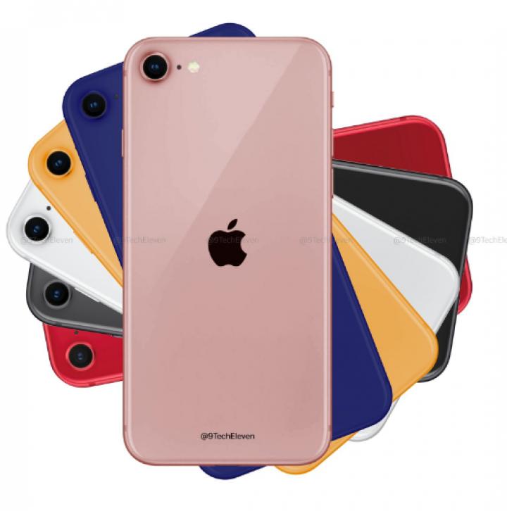 iPhone 9 в шести цветах корпуса показали на новых рендерах (фото)