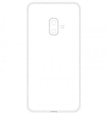В Samsung запатентован смартфон с многомодульной селфи-камерой (фото)