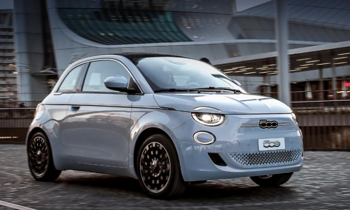 Компания Fiat представила новый электрокар (фото)