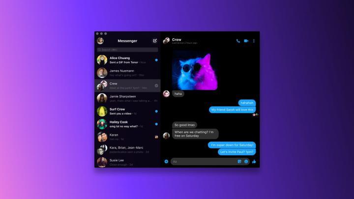 Facebook запустил приложение Messenger для Windows и MacOS (фото, видео)