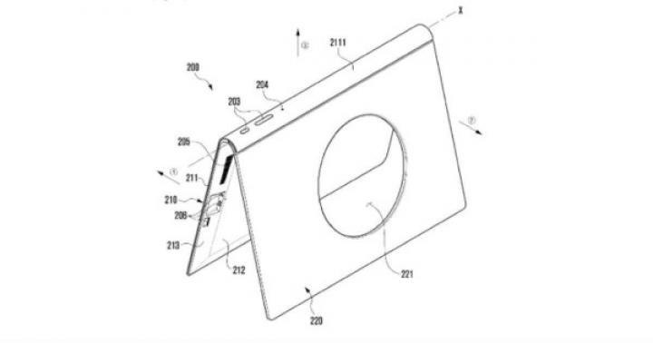 Samsung купил патент на планшет со встроенной подставкой