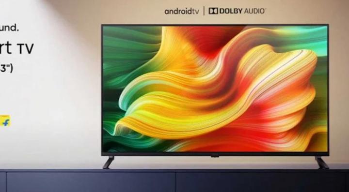 Realme выпустила свой первый смарт-телевизор