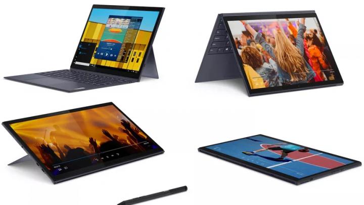 Lenovo анонсировала новые Windows-планшеты со съёмной клавиатурой (фото)