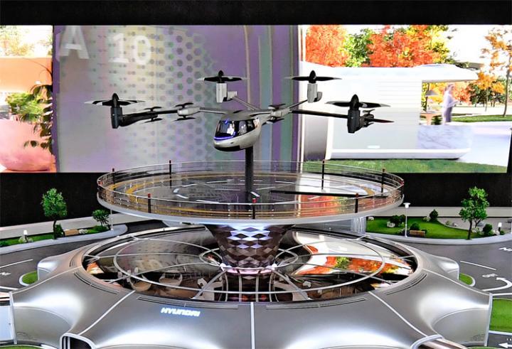 Hyundai показала футуристическую модель системы общественного транспорта (фото)