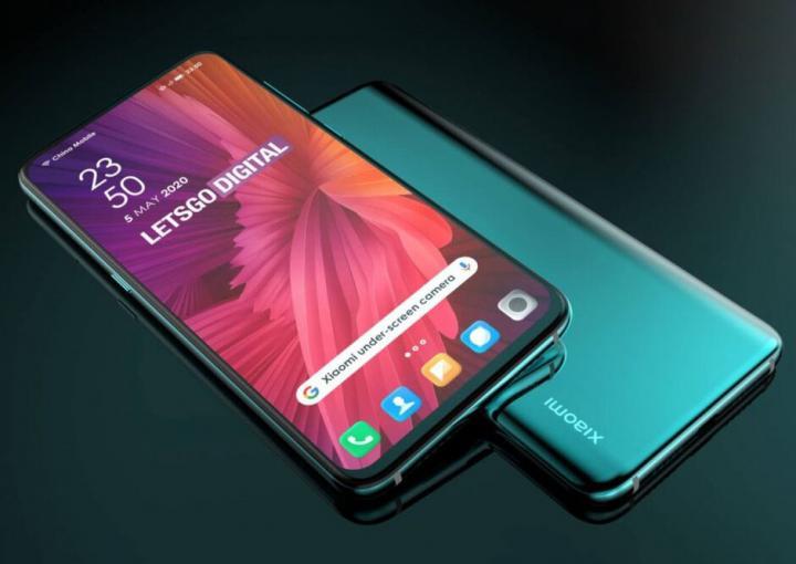 Xiaomi запатентовала две версии дизайна смартфона с камерой под дисплеем (схема)