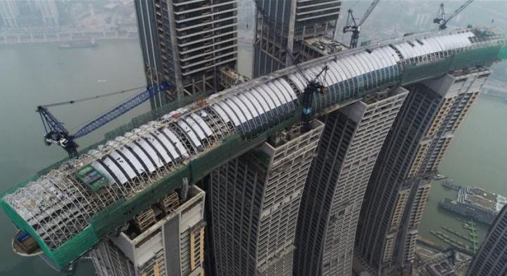 В Китае построили