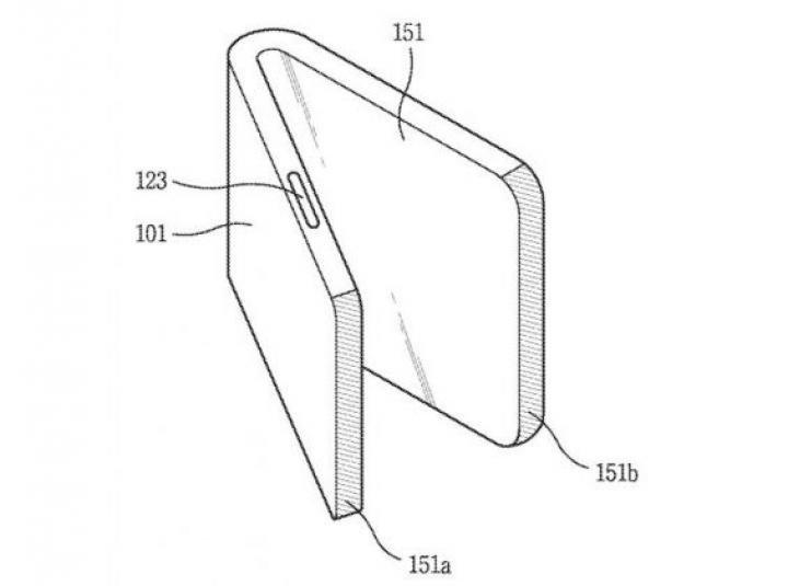 LG запатентовала складной смартфон с экранами по бокам (схема)