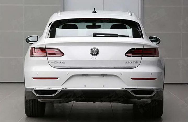 Китайцы преждевременно рассекретили VW Arteon Shooting Brake (фото)