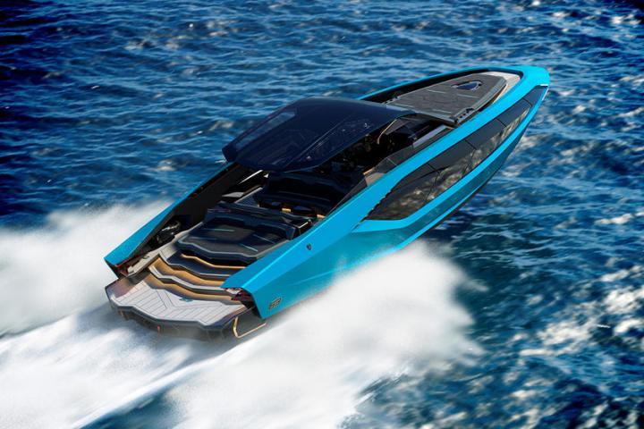 Lamborghini представила люксовую яхту с двигателем на четыре тысячи «лошадей» (фото)