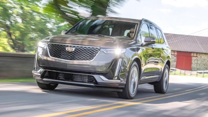 Кроссовер Cadillac XT6 получит бюджетную версию (фото)