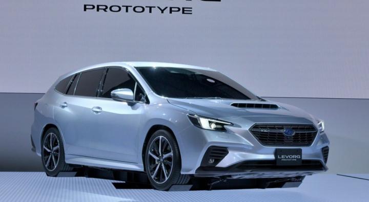 Subaru рассекретила новый универсал Levorg