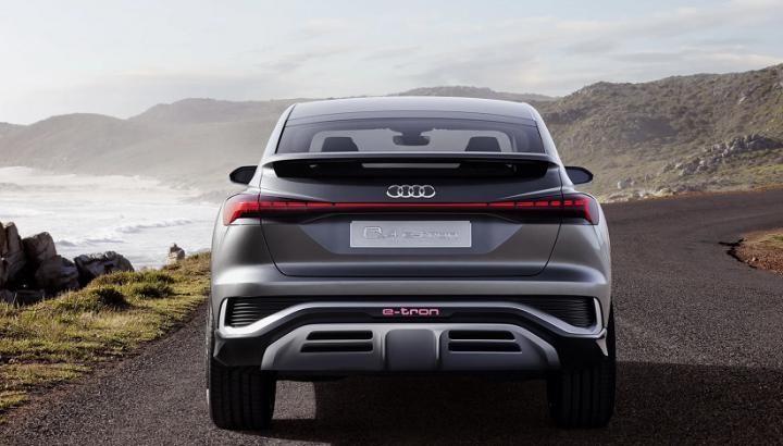 Audi Q4 e-tron Sportback представлен официально (фото)