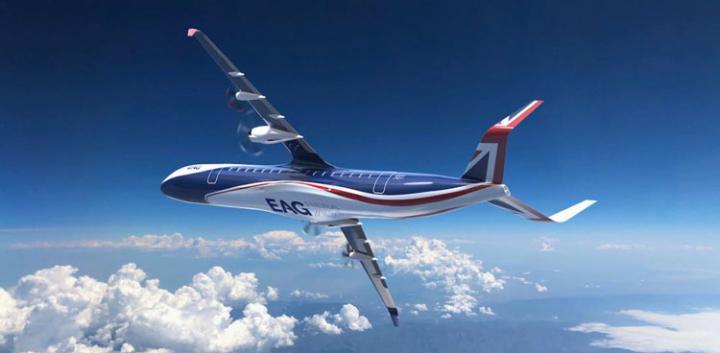 Британцы спроектировали самый большой гражданский гибридный самолет (фото)