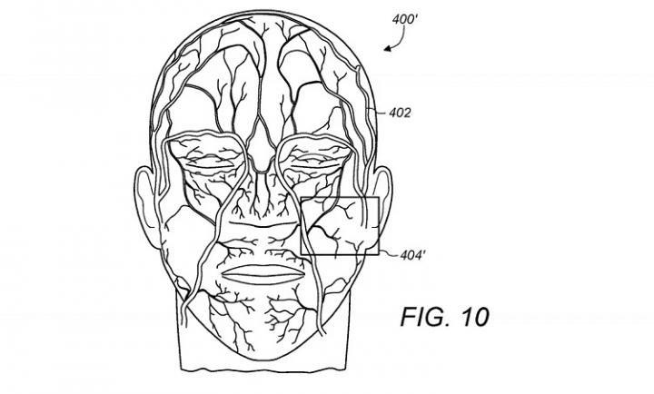 Apple Face ID научится распознавать пользователей по рисунку вен лица