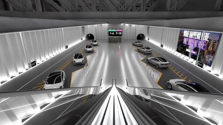 Илон Маск показал дизайн тоннеля The Boring Company под Лас-Вегасом
