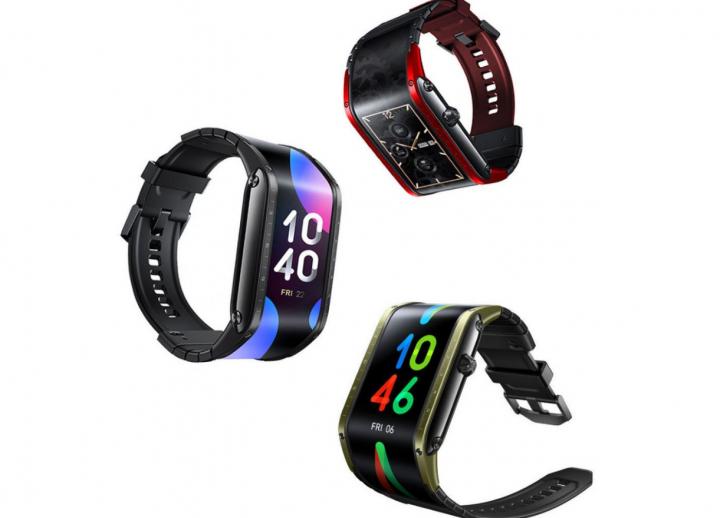 Nubia представила смартчасы Nubia Watch с гибким дисплеем и поддержкой голосовых вызовов (фото, видео)