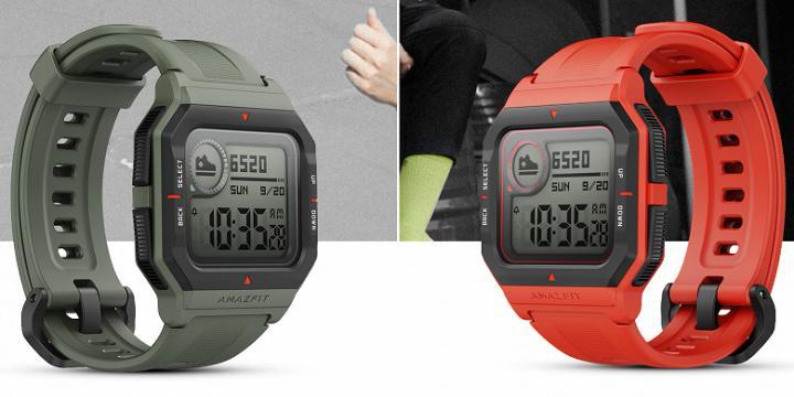 Huami выпустила смарт-часы Amazfit Neo в стиле Casio 90-х годов (фото)